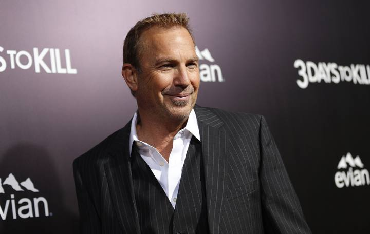 "El actor Kevin Costner en el preestreno de ""3 Days to Kill""."