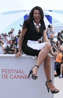 """La actriz Nahed El Sebai posa para la prensa en la presentación de la película """"Baad El Mawkeaa"""", de Yousry Nasrallah"""