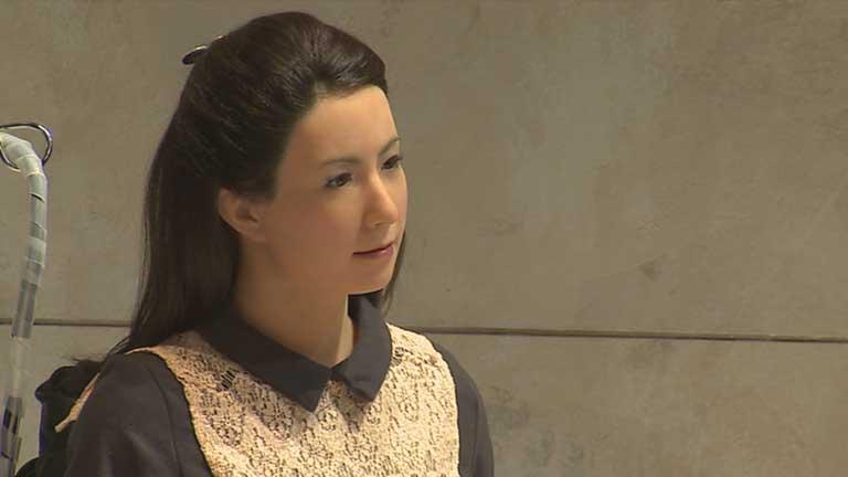 Una actriz robótica, de nombre Geminoid F, hará su actuación en Madrid