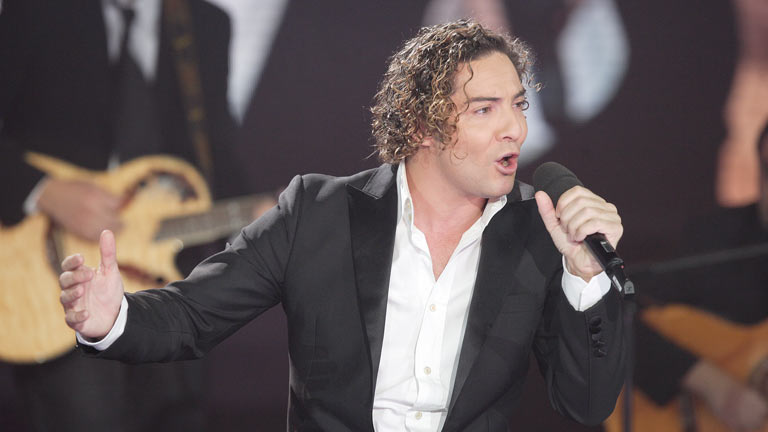 Disco del a&ntilde;o 2011 - Actuaci&oacute;n de David Bisbal