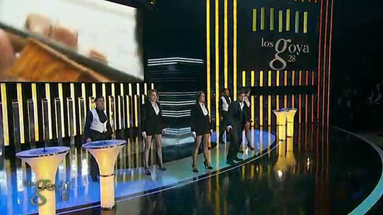 Número musical de los Goya con la Orquesta de RTVE