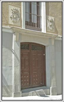 Puerta de entrada actual al colegio de San Ildefonso.