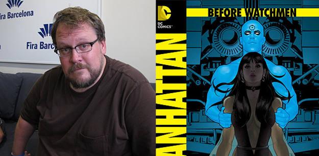 Adam Hughes y su interpretación del Dr. Manhattan