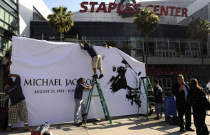 En el Staples Center de Los Angeles se celebrará el funeral de Michael Jackson