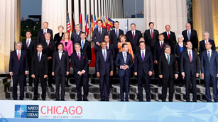 Ver vídeo  'Afganistán centra la agenda de la OTAN en la cumbre de Chicago'