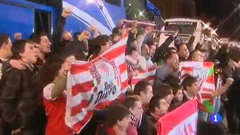 Ver vídeo  'La afición del Athletic se vuelca con su equipo'