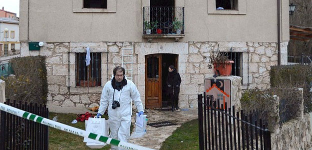 La guardia civil apunta a una l mpara como foco del for Casa rural mansion terraplen seis