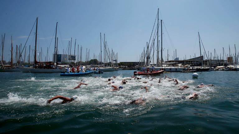 Aguas abiertas 5km femenino 20/7 M
