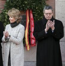 Aguirre y Gallardón presiden el acto en homenaje de las víctimas del 11M