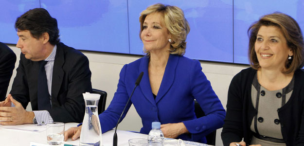 AGUIRRE OPTAR&Aacute; A VOLVER A LIDERAR EL PP DE MADRID EN EL CONGRESO DE FINALES DE ABRIL