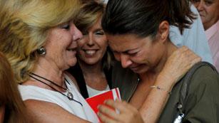 Ver vídeo  'Aguirre se despide de la primera fila de la política'
