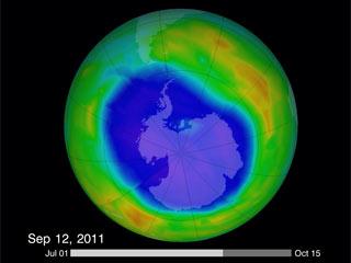 Ver vídeo  'El agujero de la capa de ozono alcanza su máximo esta temporada'