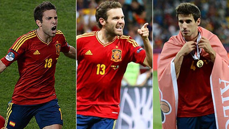 Alba, Mata y Martínez, en la lista