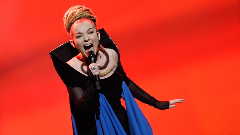 Albania Eurovisi&oacute;n 2012 - Rona Nishliu - 1&ordf; semifinal