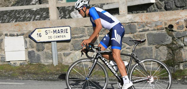 Alberto Contador en el Tourmalet