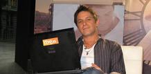 Alejandro Sanz durante el encuentro digital con sus fans en RTVE.es
