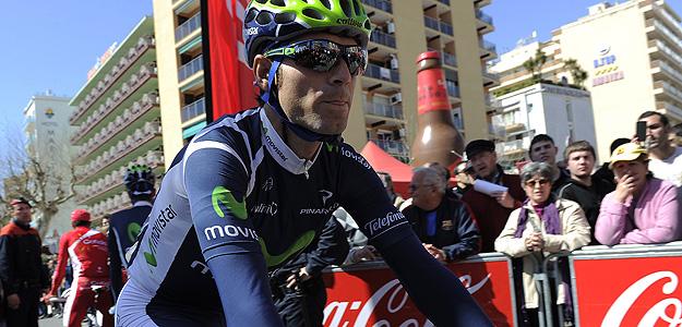 Alejandro Valverde, en la Volta a Catalunya.