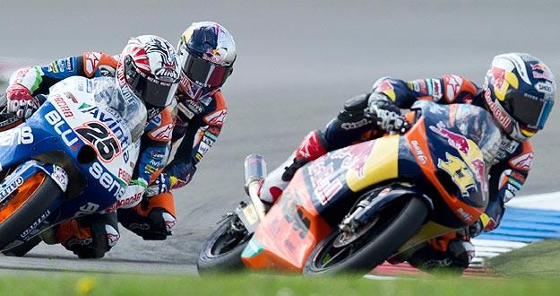El alemán Sandro Cortese, ganador en el GP de Alemania y nuevo líder en la categoría de Moto3.