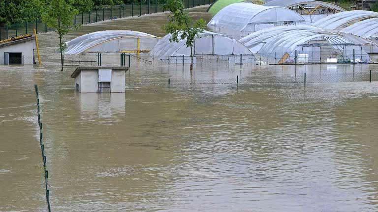 Alerta en Navarra por inundaciones