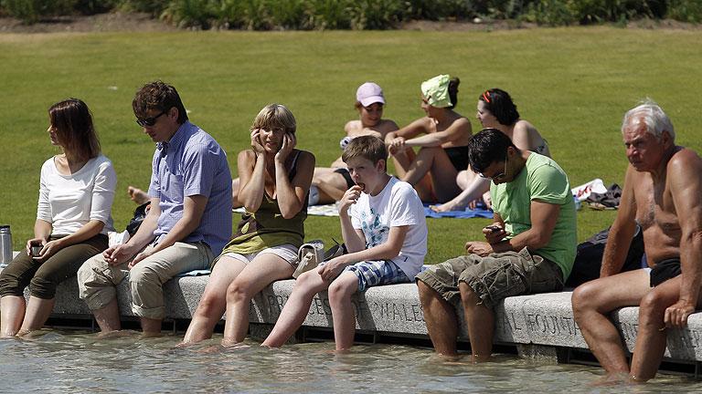 Alerta en el Reino Unido por su primera ola de calor en siete años