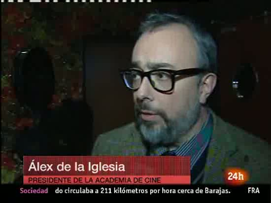 &Aacute;lex de la Iglesia defiende la ley Sinde