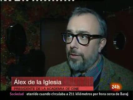 Ver vídeo  'Álex de la Iglesia defiende la ley Sinde'
