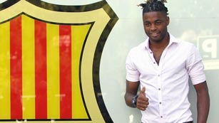 Ver v&iacute;deo  'Alex Song llega a Barcelona'