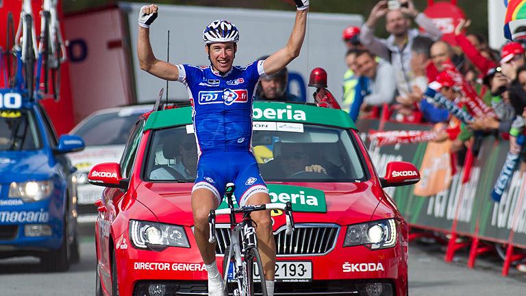 Alexandre Geniez gana la etapa reina de la Vuelta