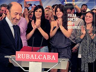 """Ver vídeo  'Alfredo Pérez Rubalcaba: """"Hemos perdido claramente las elecciones""""'"""