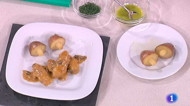 Cocina con Sergio - Alitas de pollo al whisky con frutos secos