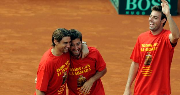 España, finalista de Copa Davis 2012