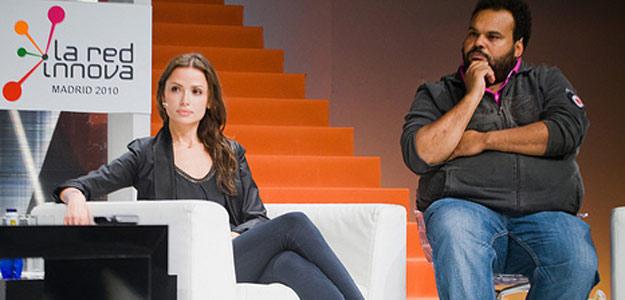 Almudena Fernández y Carlos Jean han participado en un coloquio de 'La Red Innova'