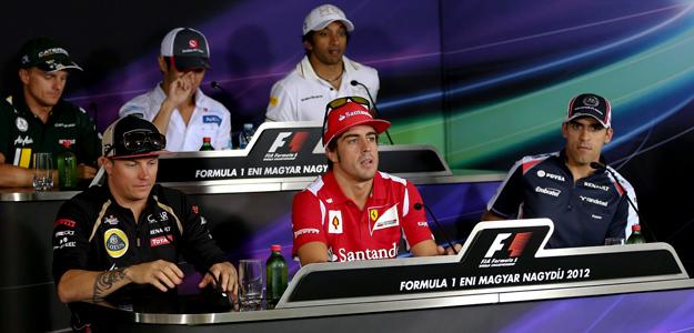 El piloto español de F1, Fernando Alonso, ha declarado en la rueda de prensa