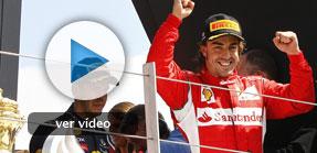 Alonso regresa con una autoritaria victoria en Silverstone