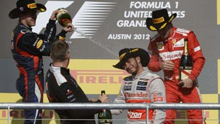 Alonso salva el 'match ball' en el circuito de Austin