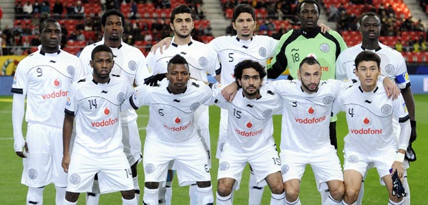 Formación de Al Sadd en el partido de la fase previa contra el Esperance