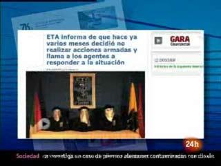Ver vídeo  'Alto el fuego de ETA: El camino en 2010 hacia el alto el fuego'
