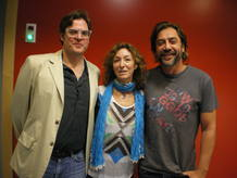 &Aacute;lvaro Longoria y Javier Bardem