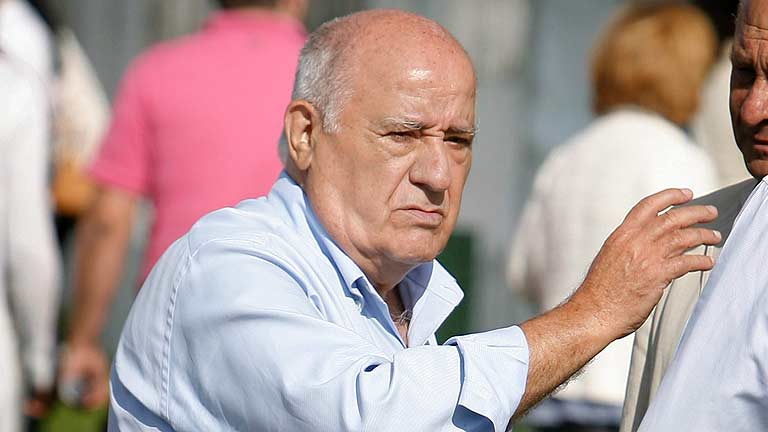El espa&ntilde;ol Amancio Ortega pasa a ser el tercer hombre m&aacute;s rico del mundo, seg&uacute;n Bloomberg