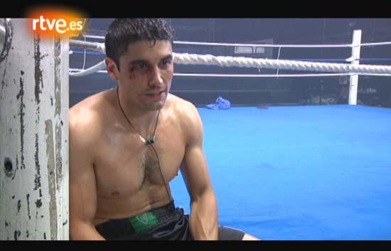 En el ring con Álex García