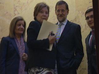 Ver vídeo  'Ambiente en el Congreso tras la investidura de Rajoy'