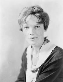 Amelia Earhart, una de las pioneras del mundo de la aviación
