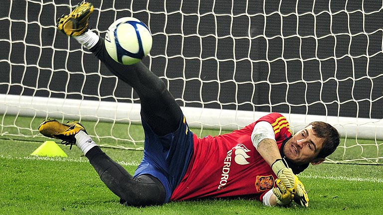 Amieiro, el 'profe' de Casillas