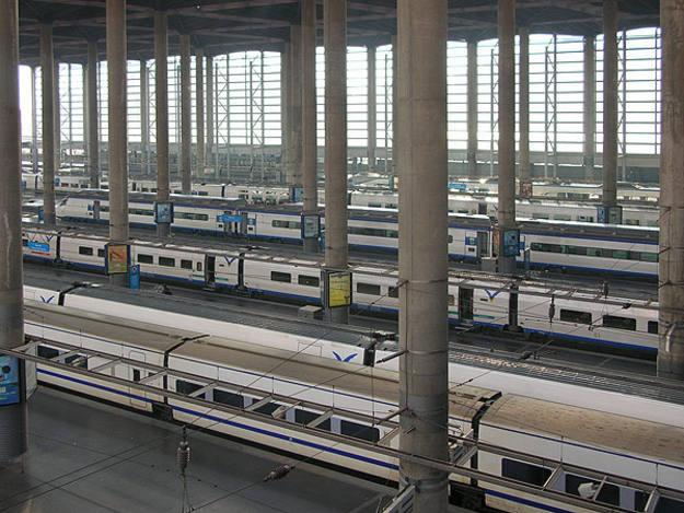 Ampliación de la estación de Atocha de Madrid