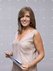 Ana Blanco, presentadora del TD1
