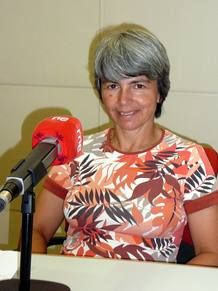 Ana Crespo, presidenta de la Sociedad Geol&oacute;gica de Espa&ntilde;a
