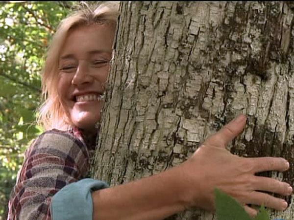 Ana ya es madrina de un castaño de los bosques de Balboa