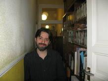 Andrés Neuman fotografiado el viernes