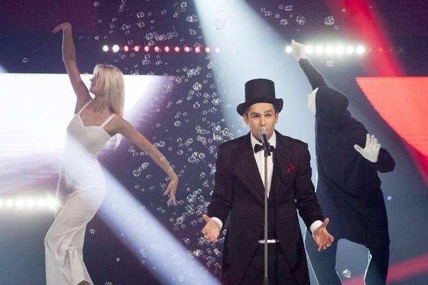 "Andrius Pojavis representa a Lituania en Eurovisión 2013 con la canción ""Something"""
