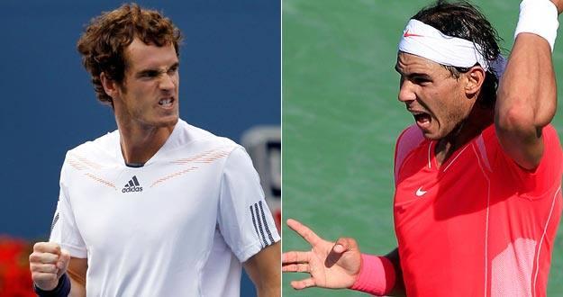 Andy Murray y Rafa Nadal, en una imagen de archivo.
